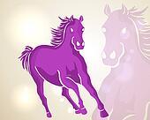 Chinese New Year 2014 running horse