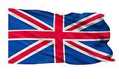 United Kingdom Flag.