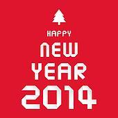 Happy new year 2014 card33