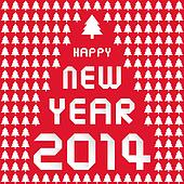 Happy new year 2014 card32