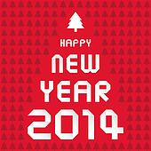 Happy new year 2014 card34