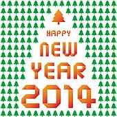 Happy new year 2014 card35