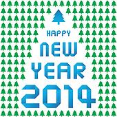 Happy new year 2014 card36
