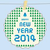 Happy new year 2014 card43