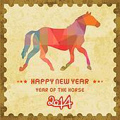 Happy new year 2014 card48