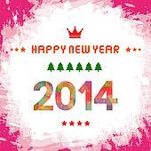 Happy new year 2014 card51