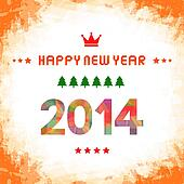 Happy new year 2014 card52