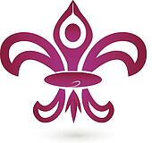 Fleur De Lis, New Orleans logo