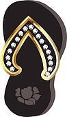 Flip Flop or beach sandal