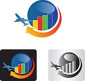 Travel business logo