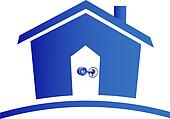 House and keys logo