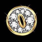 O gold and diamond bling