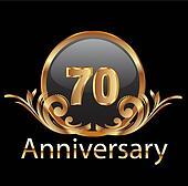 70 anniversary happy birthday