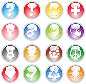 Symbols In Marbles