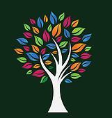 Happy Color Tree