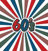 80s vector vintage art background