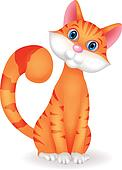 Cat cartoon character