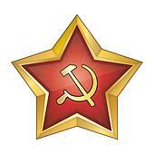 Communist Red Star Vector Illustrat