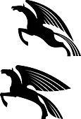 Fantasy winged horses