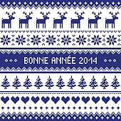 Bonne Annee 2014 - french pattern