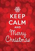 Keep calm and Merry Christmas