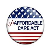 Not Affordable Care Act Button