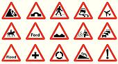 15 Triangle Traffic Signs