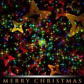 Wonderful Christmas background design illustration with stars
