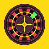 Vector Roulette Wheel Icon