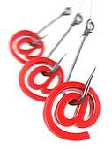 Phishing e-mail. 3d