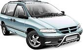 Minivan with roo bar