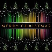 Wonderful Christmas tree illustration with snowflakes