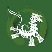 Chinese zodiac Happy New Year of the Horse