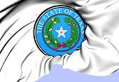 State Seal of Texas, USA.