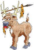 saber toothed elk