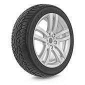 Car wheel. Winter tire