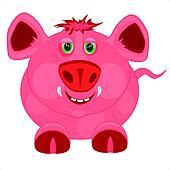Cartoon to pigs