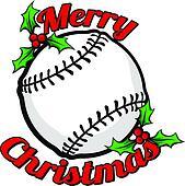 Baseball Merry Christmas