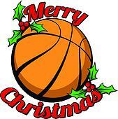 Basketball Merry Christmas