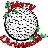 Golf Merry Christmas