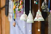 Handmade traditional ceramic jingle
