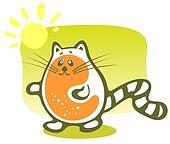 cartoon cat