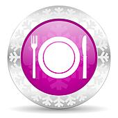 restaurant christmas icon