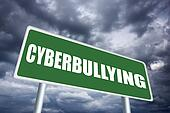Cyberbullying sign