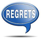 regrets icon