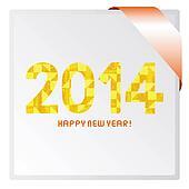Happy new year 2014 card3