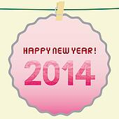 Happy new year 2014 card6