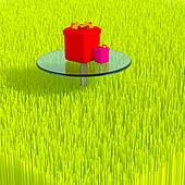 3d grass.