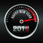 Happy New Year 2014 Dashboard Backg
