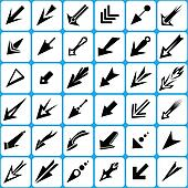 Cursor Pointer and Arrows Set